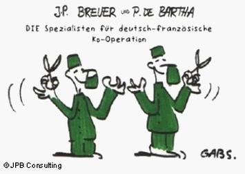 Die-Spezialisten: Pierre de Bartha und Jochen Peter Breuer