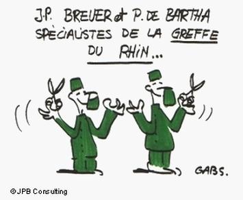 Pierre de Bartha et Jochen Peter Breuer